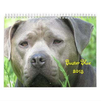 Buster Blue 2015 Calendar
