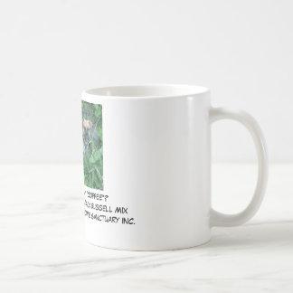 "Buster Browne, Did someone say ""COFFEE""?Buster ... Classic White Coffee Mug"