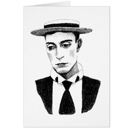 Buster Keaton Card