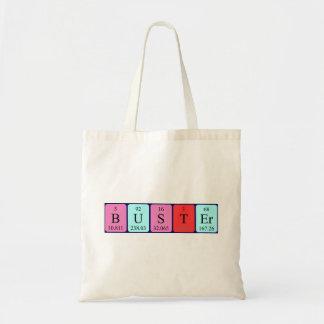 Buster periodic table name tote bag