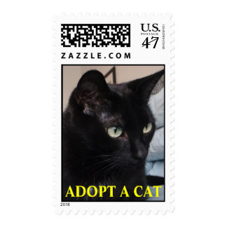 Buster postage: ADOPT A CAT Stamp