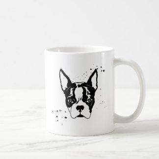 buster rough classic white coffee mug