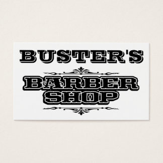 Buster's Business Card