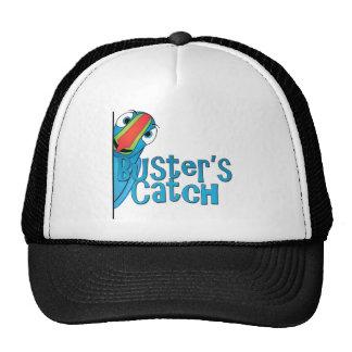 Buster's Catch Logo Design Trucker Hat