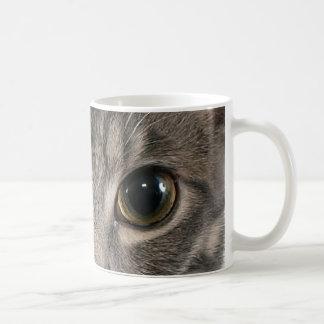 Buster's Eyes Classic White Coffee Mug