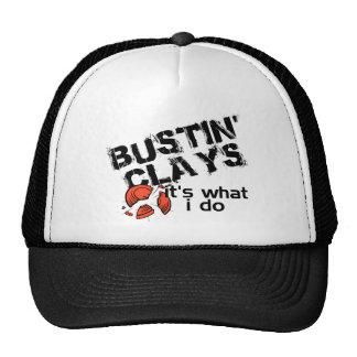 Bustin Clays Trucker Hat