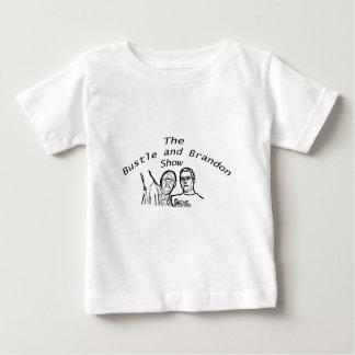 Bustle and Brandon Logo T Shirts