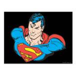 Busto 2 del superhombre tarjetas postales