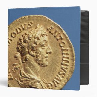 Busto aurífero de Commodus