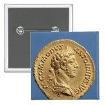 Busto aurífero de Commodus Pin