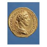 Busto aurífero de Commodus Tarjetas Postales