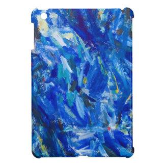 Busto azul (expresionismo abstracto) iPad mini cárcasa
