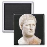 Busto de Agrippa Imán Cuadrado