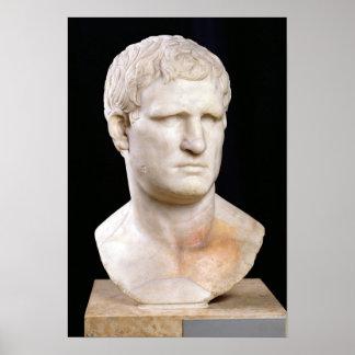 Busto de Agrippa Poster