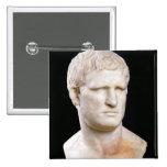 Busto de Agrippa Pin Cuadrada 5 Cm