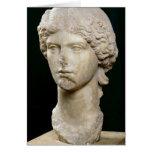 Busto de Agrippina el ANUNCIO de la anciano c.37-4 Tarjeta De Felicitación