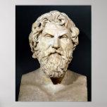 Busto de Antisthenes Posters