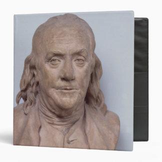 "Busto de Benjamin Franklin 1778 Carpeta 1 1/2"""