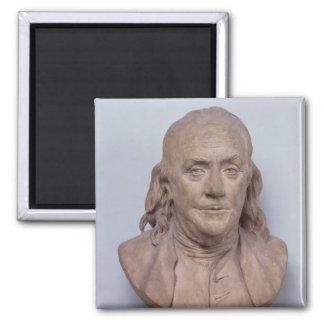 Busto de Benjamin Franklin 1778 Imanes