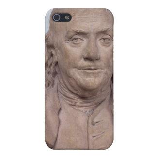 Busto de Benjamin Franklin 1778 iPhone 5 Funda