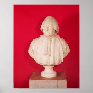 Busto de Chretien Guillaume Póster