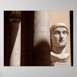 Busto de Constantina, dei Conservatori de Palazzo Impresiones
