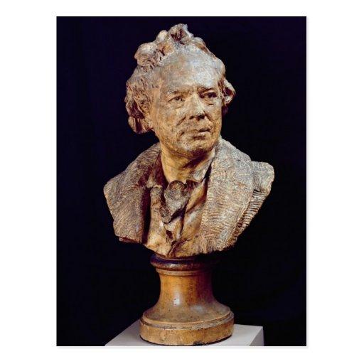 Busto de Cristóbal Wilibald von Gluck c.1775 Postal