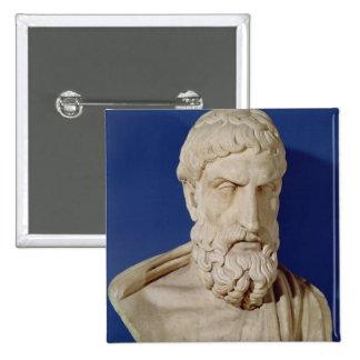 Busto de Epicurus Pin