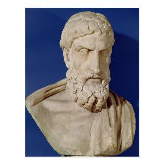 Busto de Epicurus Postal