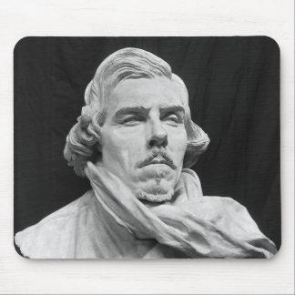 Busto de Eugene Delacroix Alfombrilla De Ratones