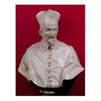Busto de Francisco cardinal Barberini Tarjeta Postal