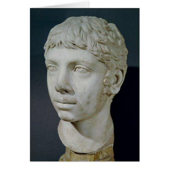 Busto de Heliogabalus Tarjeta De Felicitación