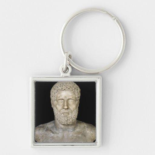 Busto de Hércules Llaveros Personalizados