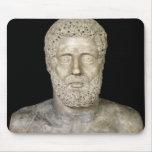 Busto de Hércules Tapetes De Ratón