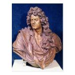 Busto de Jean Baptiste Lully Tarjeta Postal