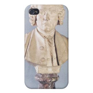 Busto de Jean-Jacques Rousseau iPhone 4/4S Carcasa