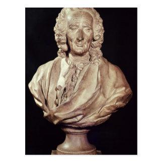 Busto de Jean-Philippe Rameau 1760 Tarjeta Postal
