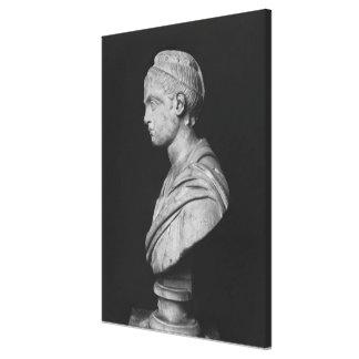 Busto de Julia Mamaea Impresión En Lienzo Estirada
