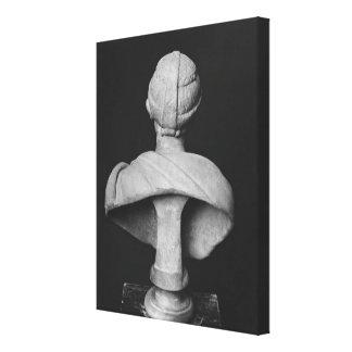 Busto de Julia Mamaea Impresión En Lona
