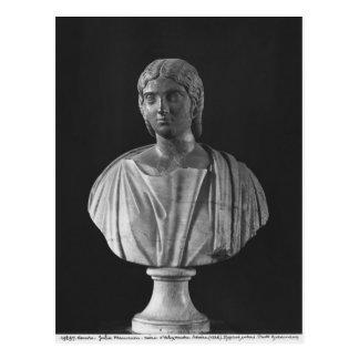 Busto de Julia Mamaea Postal