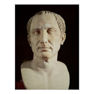 Busto de Julio César 2 Poster