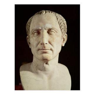 Busto de Julio César 2 Tarjetas Postales