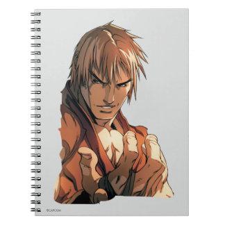 Busto de Ken Libro De Apuntes Con Espiral
