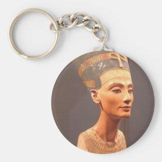 Busto de la reina Nefertiti Llaveros Personalizados