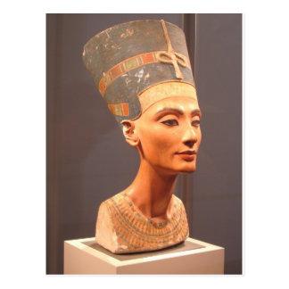 Busto de la reina Nefertiti Postales