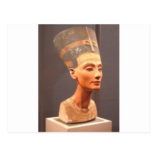 Busto de la reina Nefertiti Postal