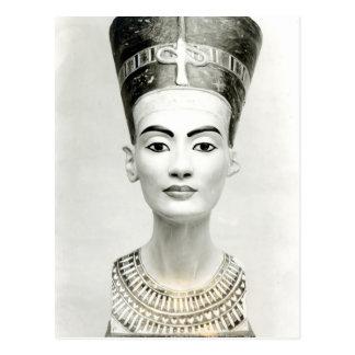 Busto de la reina Nefertiti Tarjetas Postales