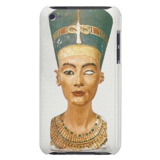 Busto de la reina Nefertiti, vista delantera, del  iPod Case-Mate Carcasas