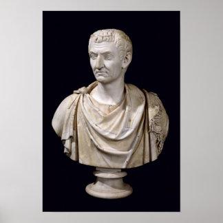 Busto de Marco Cocceius Nerva Póster