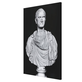 Busto de Marco Licinius Crassus Impresion En Lona